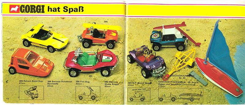 Corgi - Catalogo 1973 - versione tedesca 518