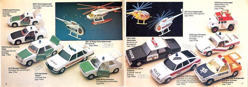 Corgi - Catalogo 1980-81 - versione tedesca 519