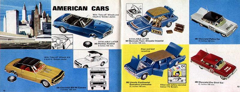 Corgi Toys - Catalogo 1969 616