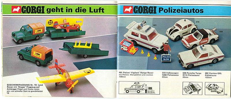 Corgi - Catalogo 1973 - versione tedesca 618