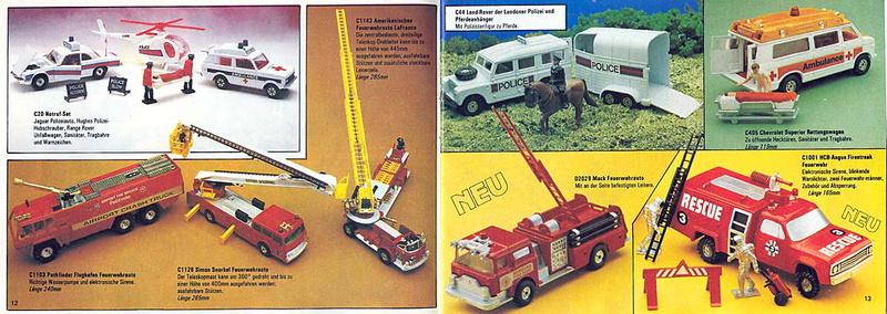 Corgi - Catalogo 1980-81 - versione tedesca 619