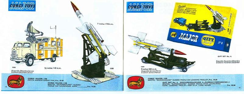 Corgi Toys - Catalogo 1958 715