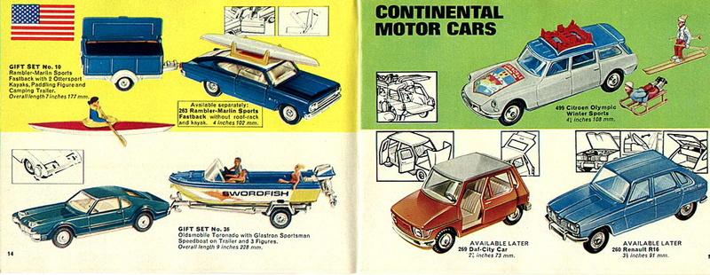 Corgi Toys - Catalogo 1969 716