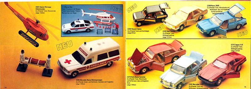 Corgi - Catalogo 1980-81 - versione tedesca 719