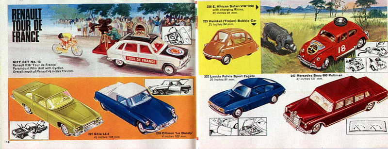 Corgi Toys - Catalogo 1969 815
