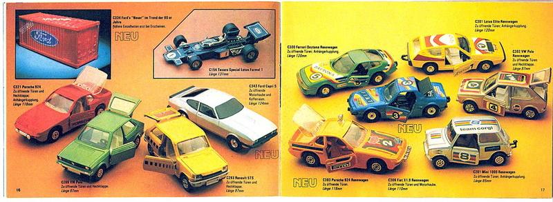 Corgi - Catalogo 1980-81 - versione tedesca 818