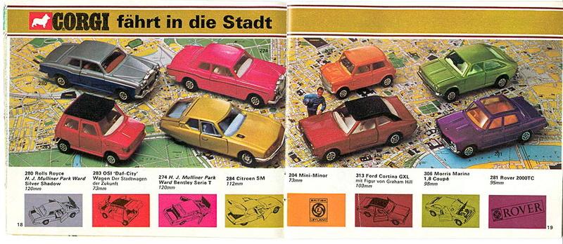 Corgi - Catalogo 1973 - versione tedesca 917