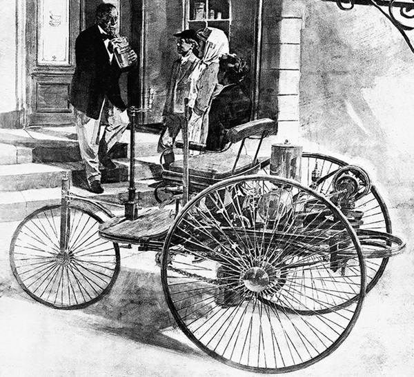 8 Marzo - Bertha Ringer Benz: la Donna che mise in moto l'Automobile Bertha12