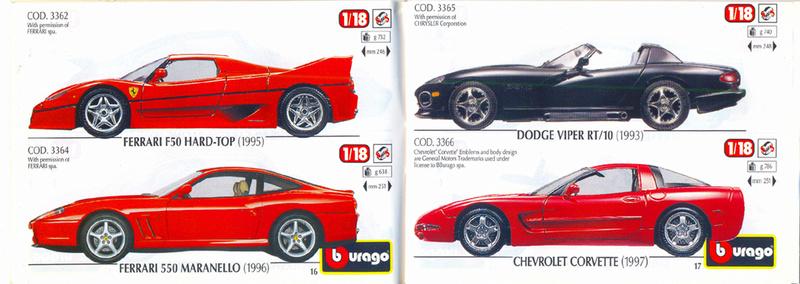 Catalogo 1999-2000 Burago43