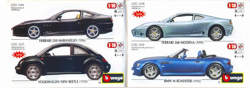 Catalogo 1999-2000 Burago45