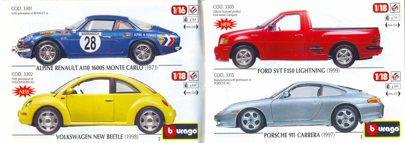 Catalogo 1999-2000 Burago47