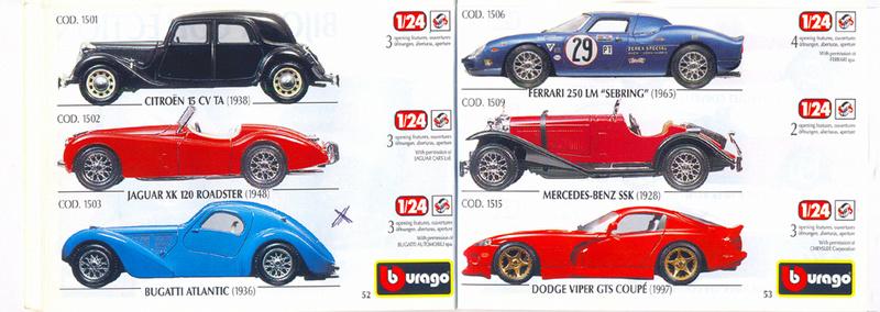 Catalogo 1999-2000 Burago65