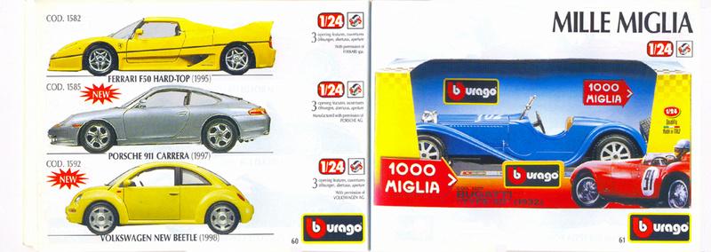 Catalogo 1999-2000 Burago66