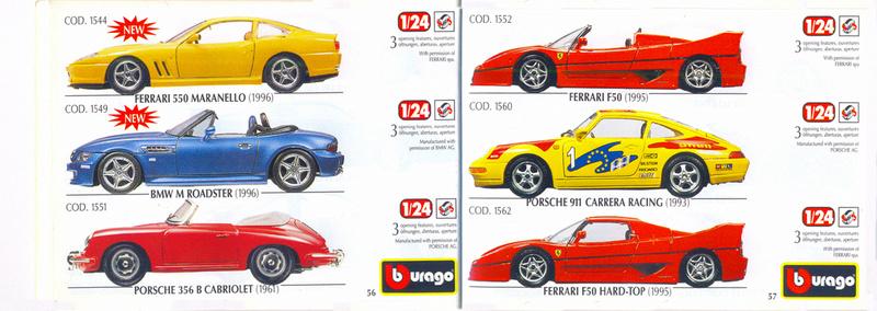 Catalogo 1999-2000 Burago67