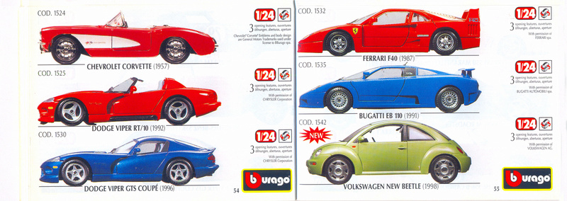 Catalogo 1999-2000 Burago68