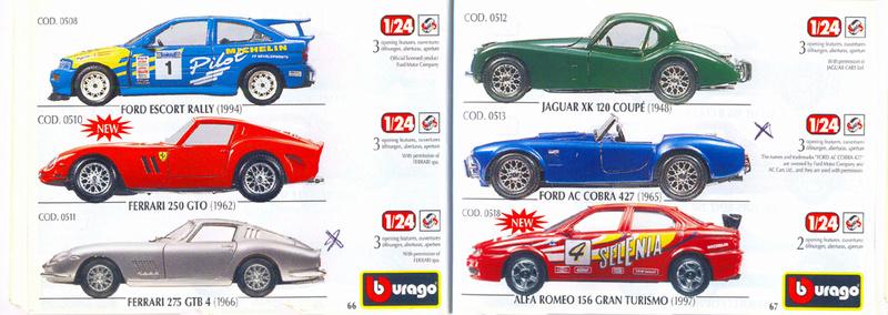 Catalogo 1999-2000 Burago69