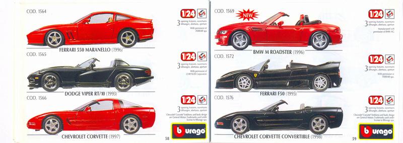 Catalogo 1999-2000 Burago70