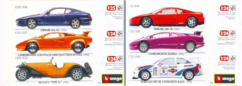 Catalogo 1999-2000 Burago71