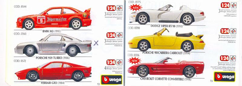 Catalogo 1999-2000 Burago72