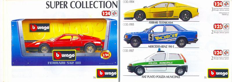 Catalogo 1999-2000 Burago77