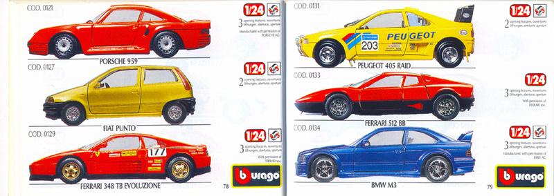 Catalogo 1999-2000 Burago78