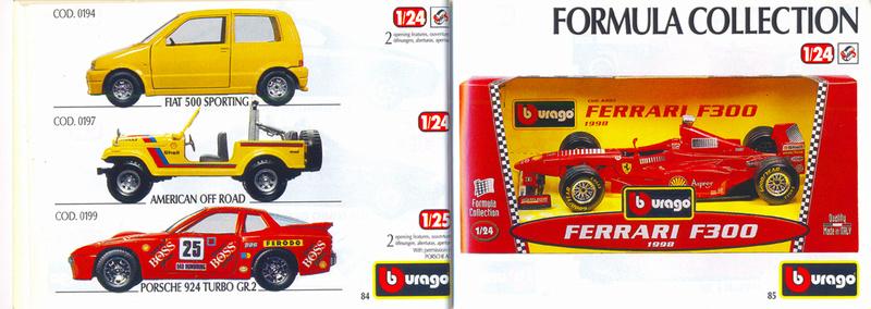 Catalogo 1999-2000 Burago79