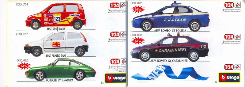 Catalogo 1999-2000 Burago83