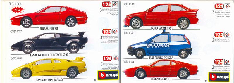 Catalogo 1999-2000 Burago84
