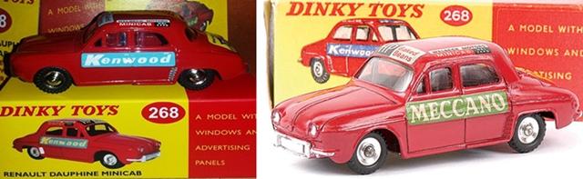 """""""Falsi"""" Miti - Dinky Toys Collection  Dauphi10"""