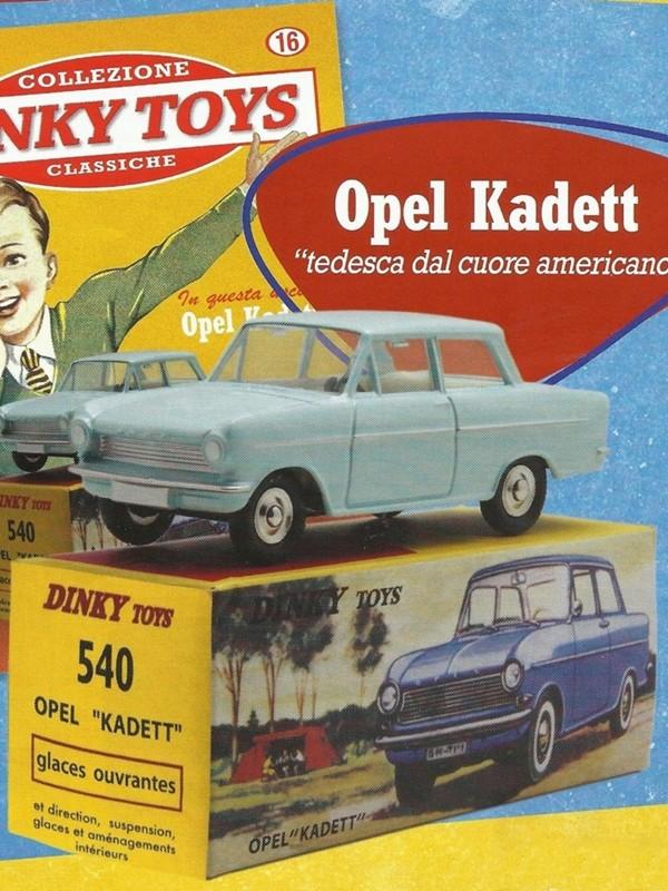 """""""Falsi"""" Miti - Dinky Toys Collection  Kadett10"""
