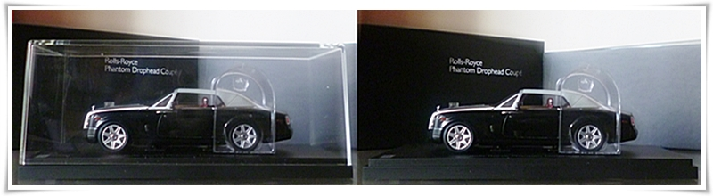 1.43 KYOSHO ROLLS ROYCE PHANTOM DROPHEAD COUPE - 05532BKU P1010326