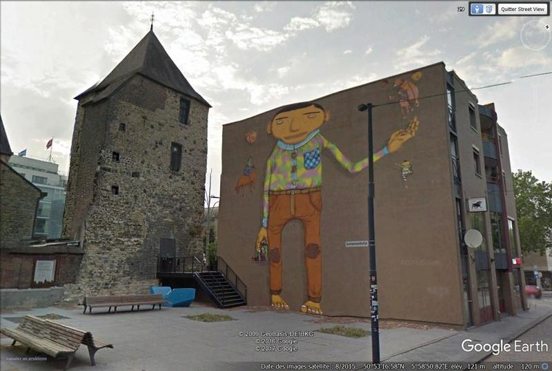 STREET VIEW : les fresques murales - MONDE (hors France) - Page 23 Grafit10