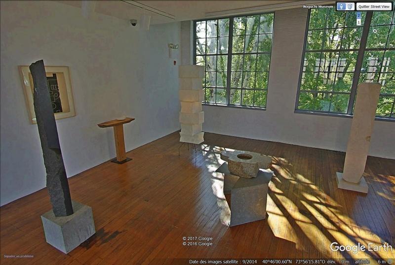 STREET VIEW : les musées en visite virtuelle - Page 9 Noguch13