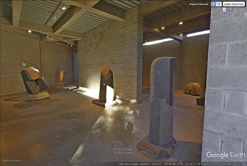 STREET VIEW : les musées en visite virtuelle - Page 9 Noguch14