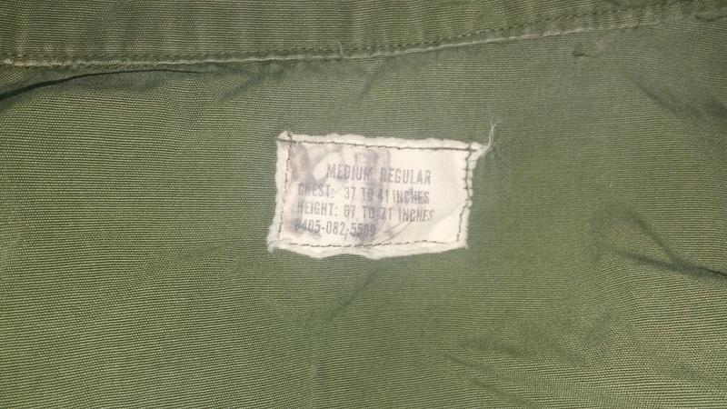 A few Vietnam War era Army Shirts and Jackets 20170103