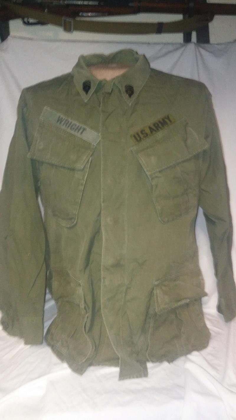 A few Vietnam War era Army Shirts and Jackets 20170104