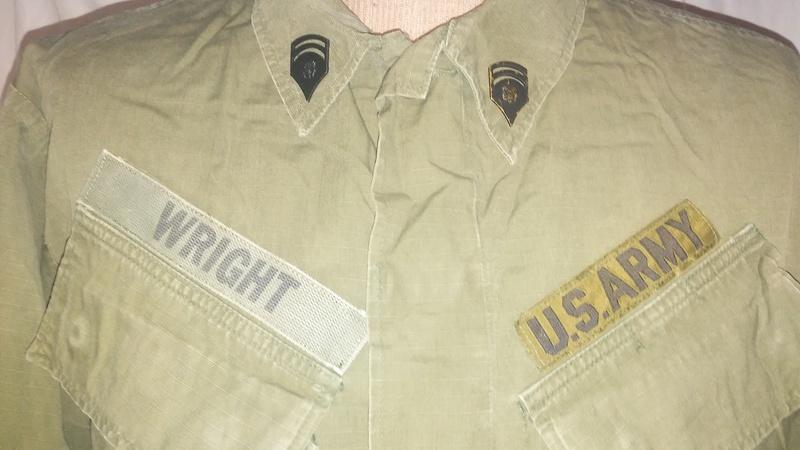 A few Vietnam War era Army Shirts and Jackets 20170105