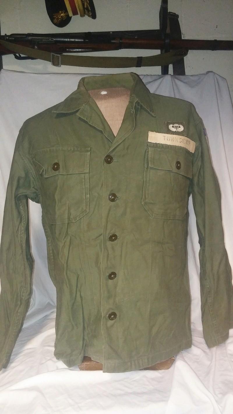 A few Vietnam War era Army Shirts and Jackets 20170107