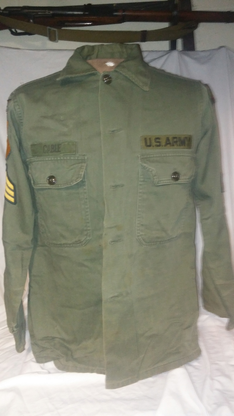 A few Vietnam War era Army Shirts and Jackets 20170110