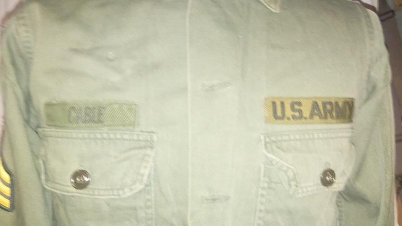 A few Vietnam War era Army Shirts and Jackets 20170111