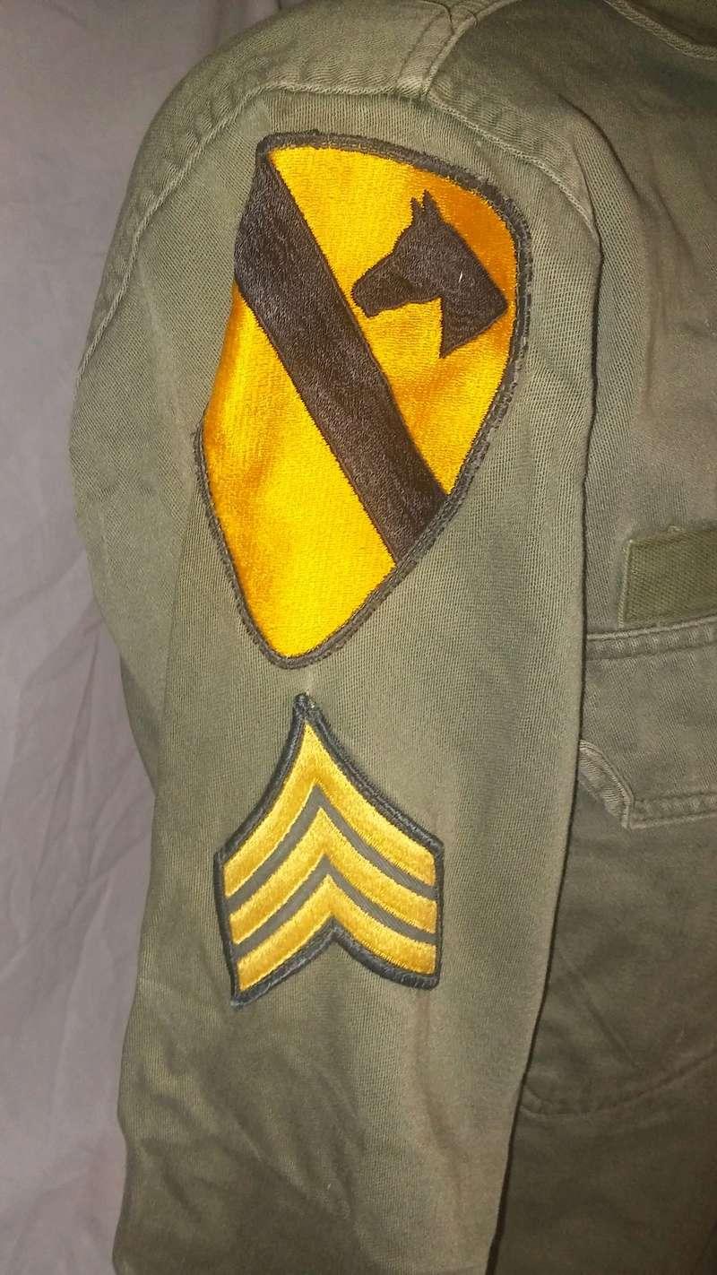A few Vietnam War era Army Shirts and Jackets 20170112