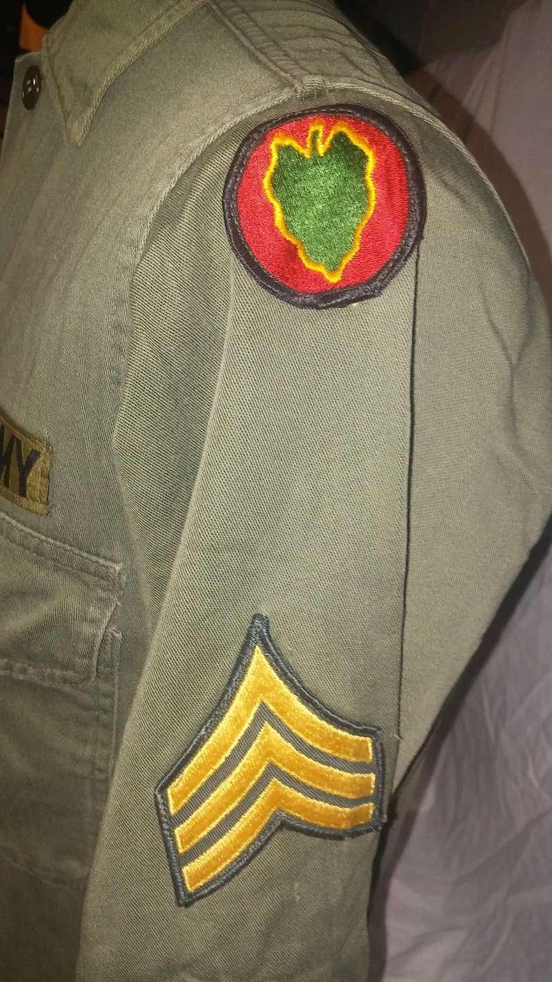 A few Vietnam War era Army Shirts and Jackets 20170113