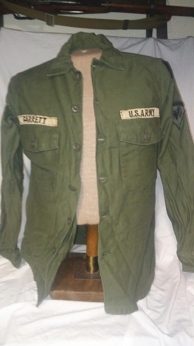 A few Vietnam War era Army Shirts and Jackets 20170114