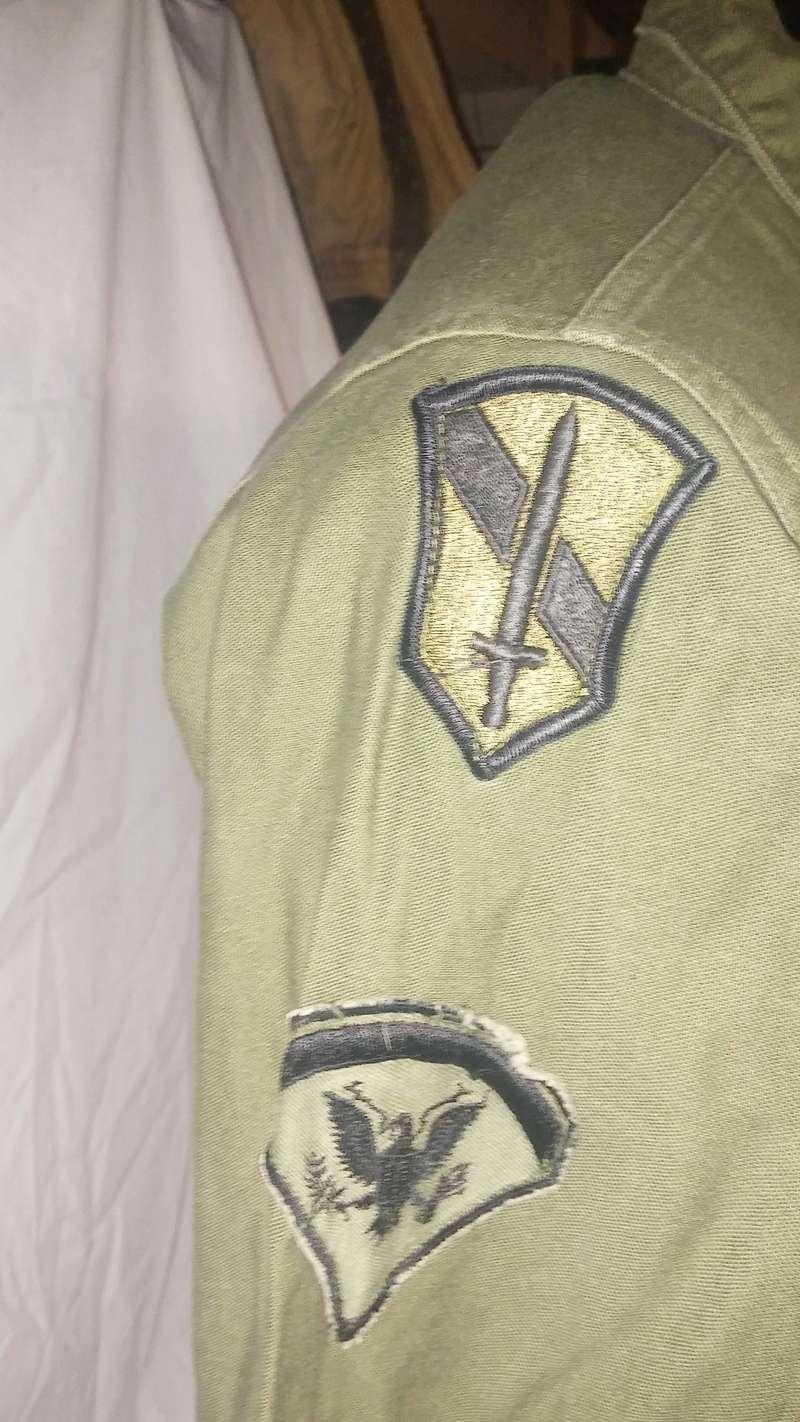 A few Vietnam War era Army Shirts and Jackets 20170115