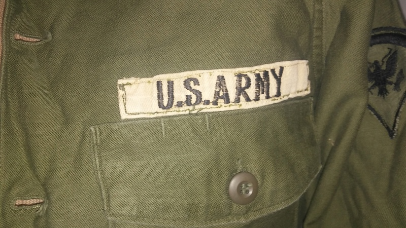 A few Vietnam War era Army Shirts and Jackets 20170118