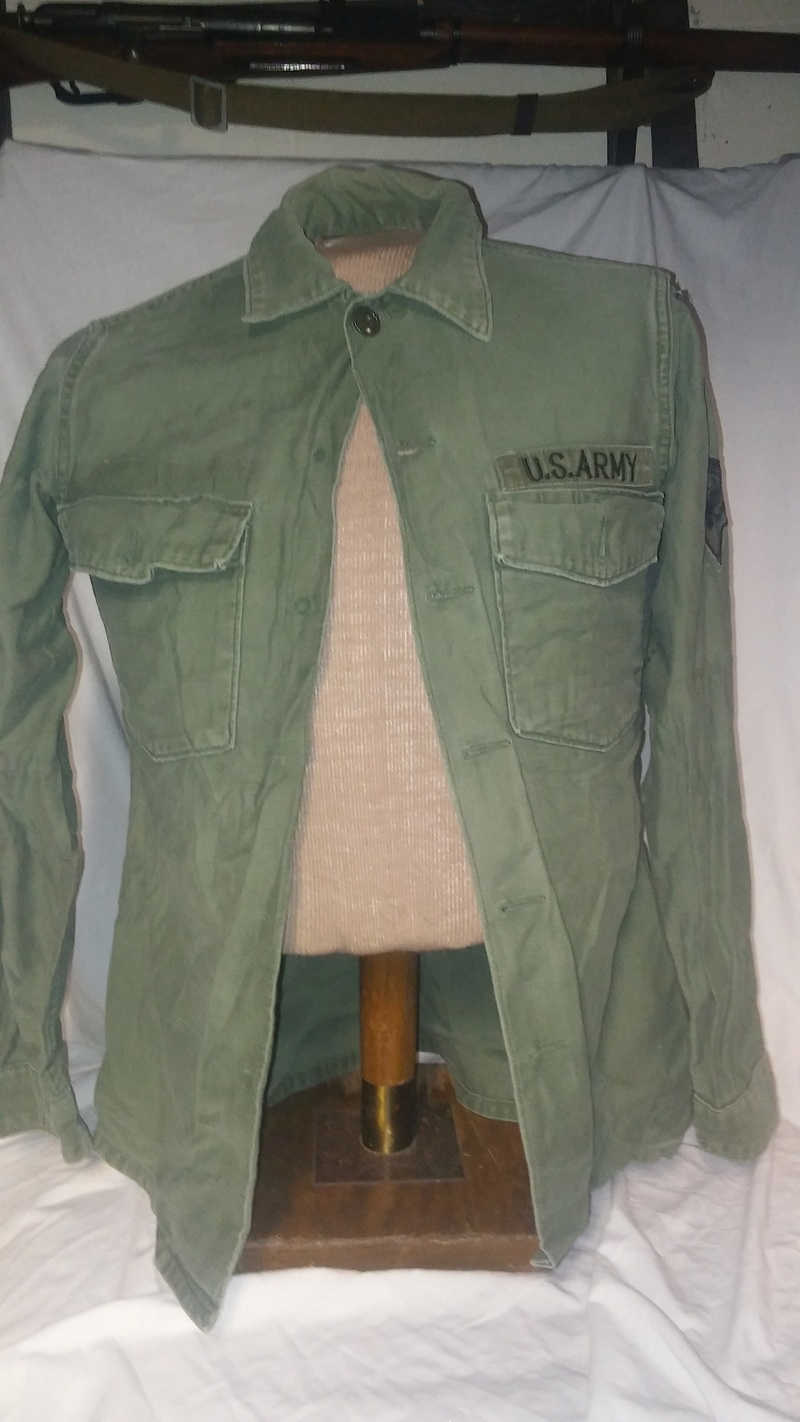 A few Vietnam War era Army Shirts and Jackets 20170120