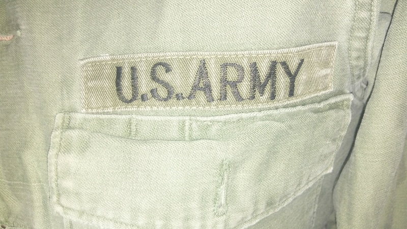 A few Vietnam War era Army Shirts and Jackets 20170124