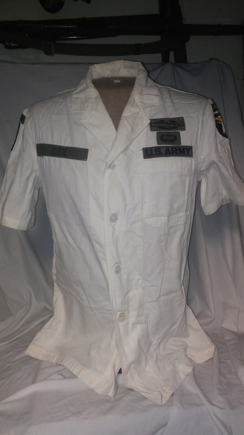 A few Vietnam War era Army Shirts and Jackets 20170125