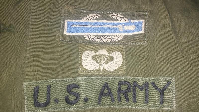 A Couple U.S. Army Combat Medic OG-107 Tops 20170354