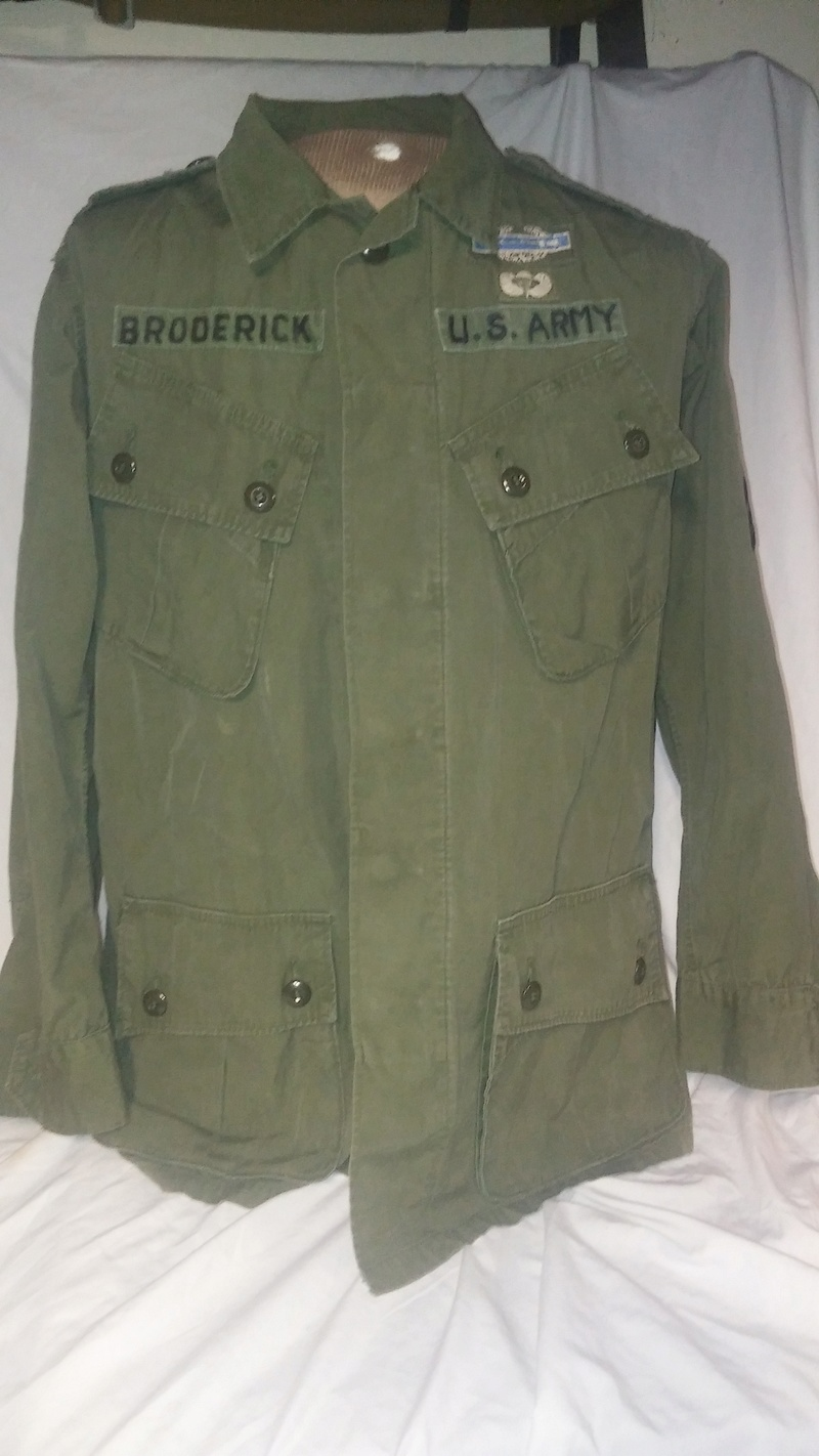 A few Vietnam War era Army Shirts and Jackets 20170355